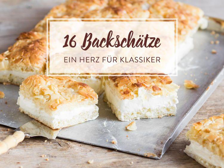 Kuchenklassiker Unsere Liebsten Kaffeetafelhelden Aus Omas Backbuch Rezepte Streusel Kuchen Bienenstich