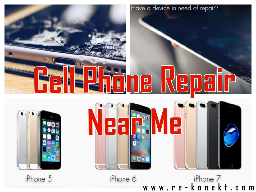 REKONEKT is one of the most convenient Cell Phone Repair