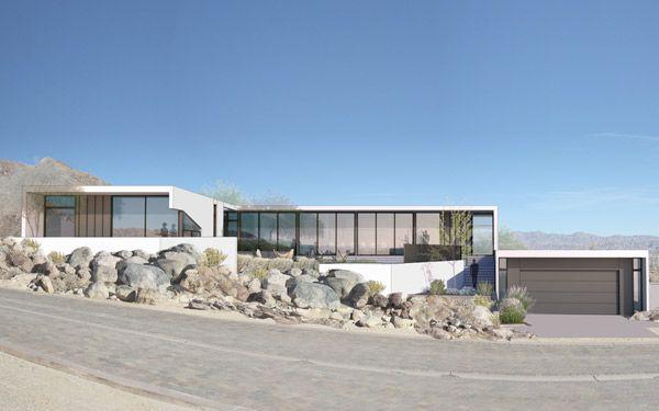 2017 Palm Springs Idea House Sunset Palm Springs Sunset Magazine House