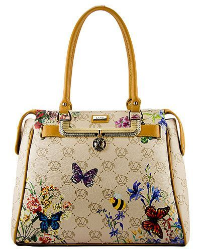 Flower Print Signature Large Tote Bag MORE COLORS