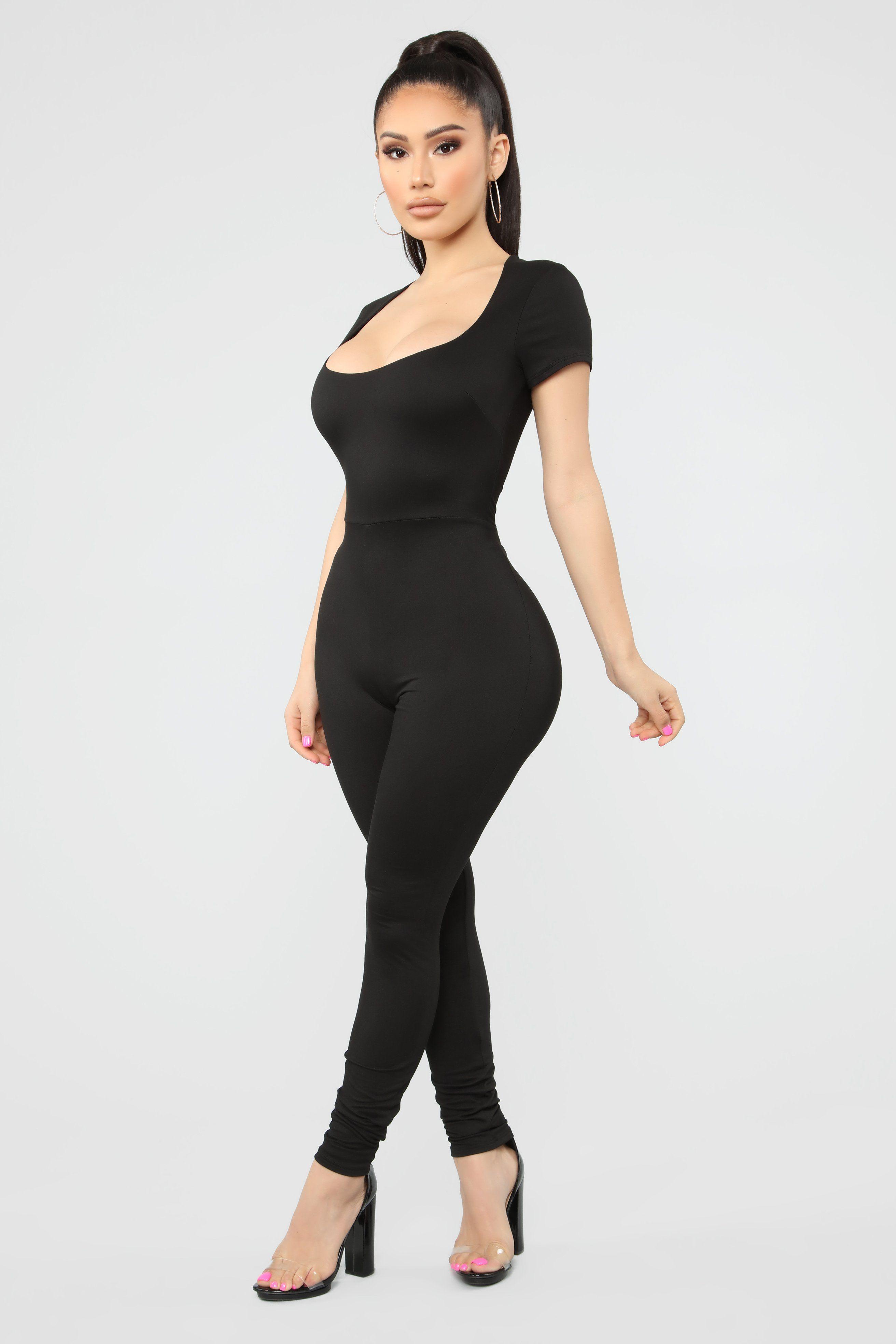Still The Same Jumpsuit Black Dress Clothes For Women Black Jumpsuit Jumpsuit [ 3936 x 2624 Pixel ]