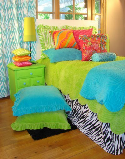 Way cool teen tween bedding collection sweet and sour for Cool beds for tweens