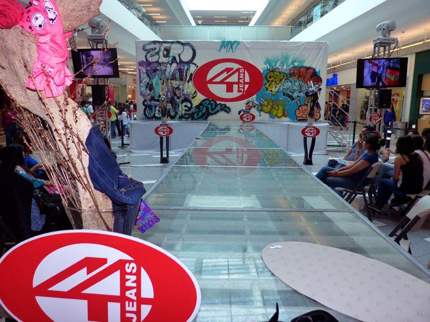 pasarela Zero 44 Jeans, Parque Tezontle
