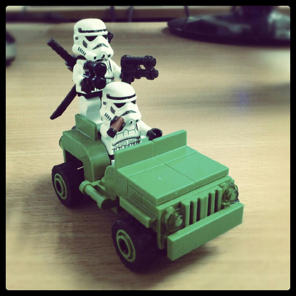 A Toy's Perspective: Troopers attack!!
