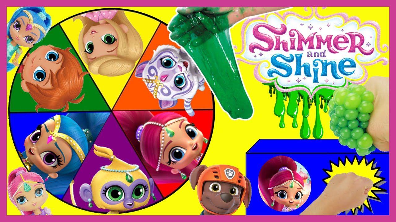 Pin De Taylor Thomas En Dolls Shimmer Shine Videos