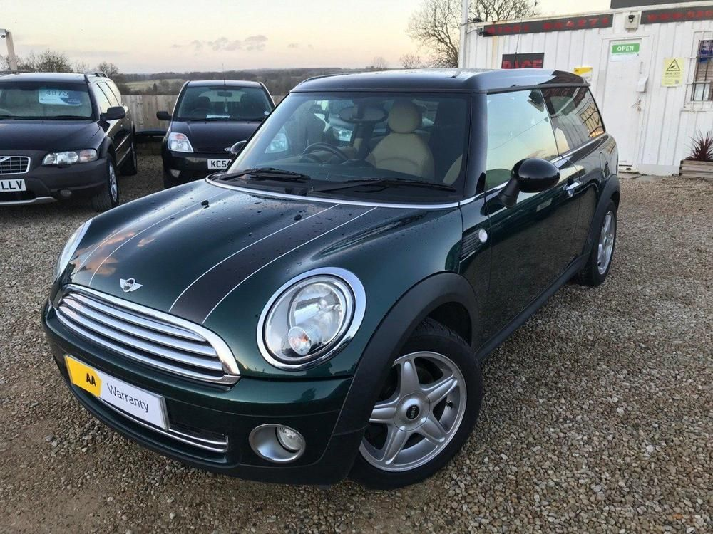 Ebay Mini Clubman Cooper Green Manual 16 Petrol 2009 Mini