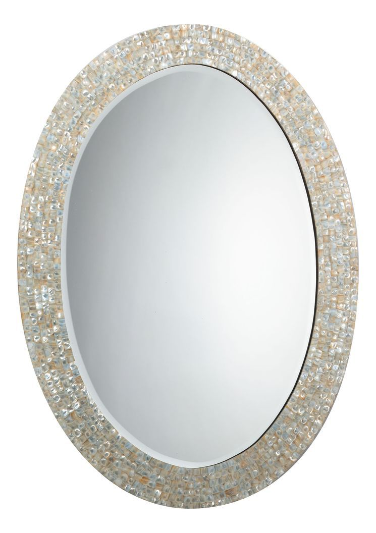 Oval Mother Of Pearl Mirror Wayfair Mother Of Pearl Mirror Large Oval Mirror Oval Mirror