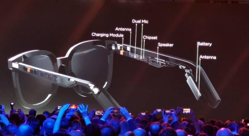 نظارة هواوي الذكية كل ما تريد معرفته عن المميزات والسعر صدى التقنية Smart Glasses Electronic Devices Antenna
