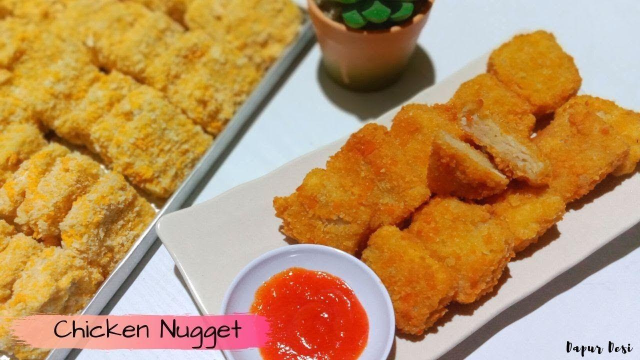 Resep Chicken Nugget Homemade 1 2kg Ayam Jadi 55 Nugget Ayam Chicken Nuggets Resep Masakan Resep