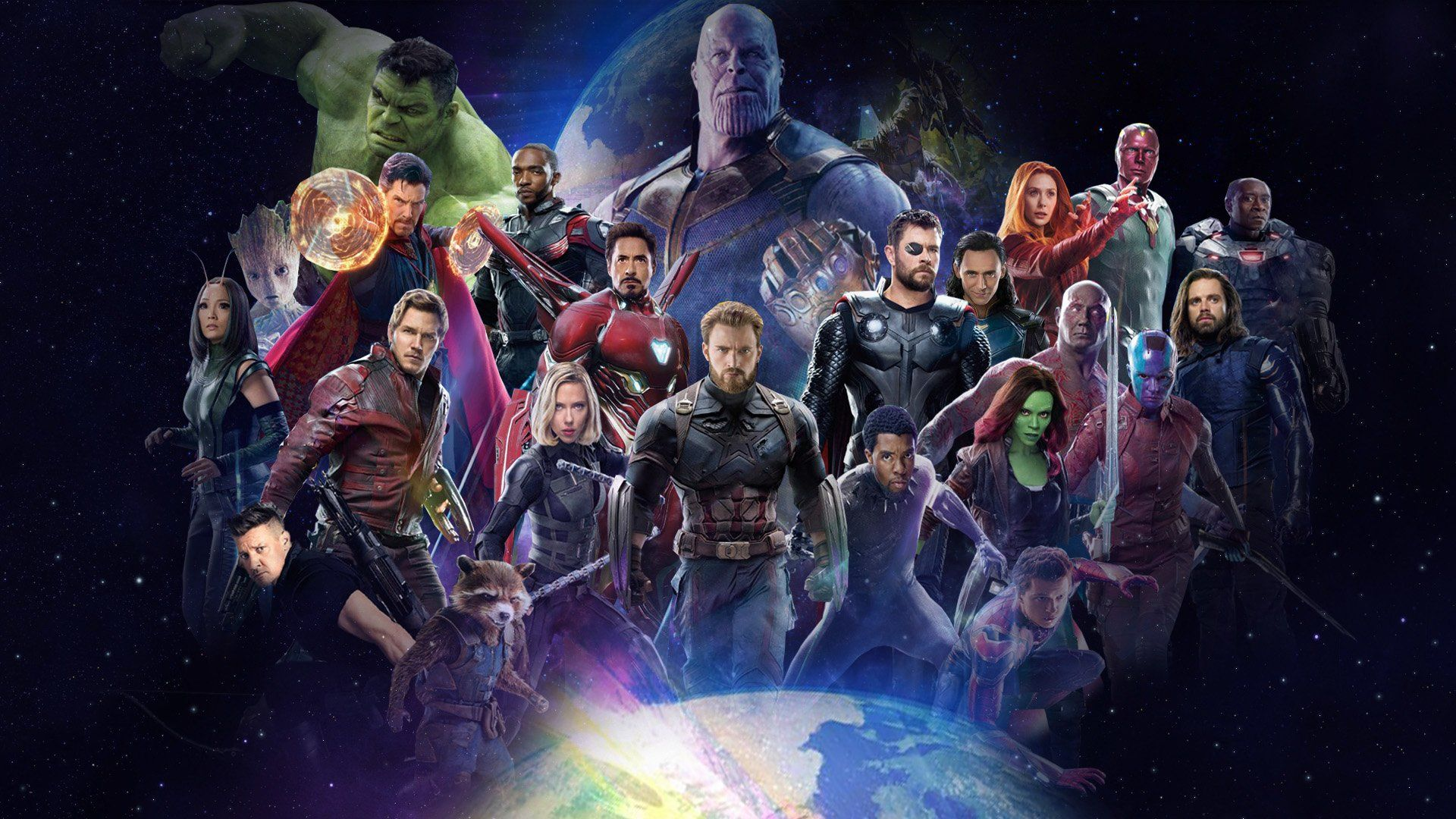 Avengers Infinity War Full Hd Wallpaper And Background