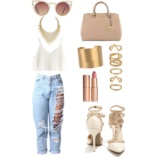tan and gold everything