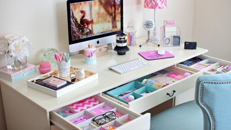 Fabriquer un bureau soi même u2013 22 idées inspirantes bureau