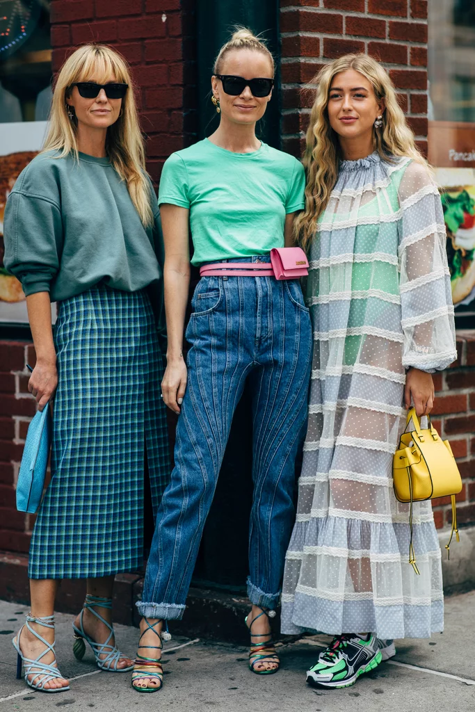 College Fashion Trends 2020.New York Fashion Week Delivered All The Street Style You Ve