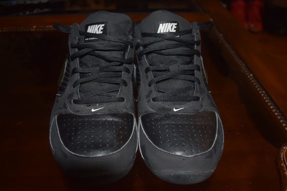 c8ea1f245380 Nike Air Baseline Low Mens Basketball Shoes Black 386240-001  fashion   clothing