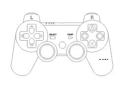 Afbeeldingsresultaat voor videogame controller clipart ps4