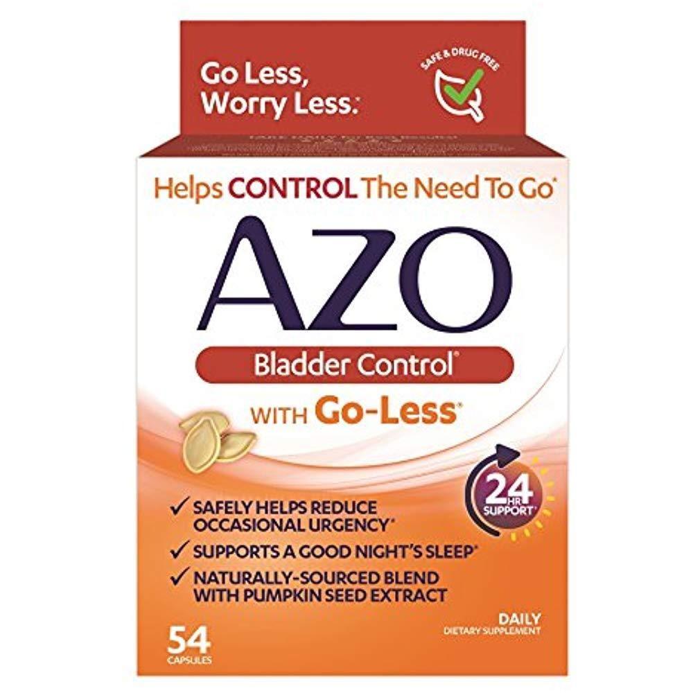 Azo Bladder Control Uti Pills Supplement Reduce Occasional Urgency