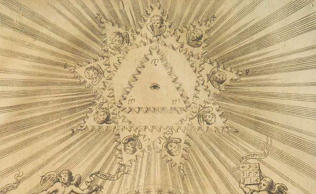 Arithmologia de Athanasius Kircher. (Detail). axonometrica 0151 CINCO