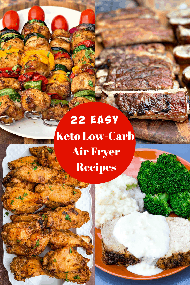 22 Quick and Easy Keto LowCarb Air Fryer Recipes that are