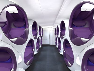 Check Out These Crazy Airplane Seats Of The Future