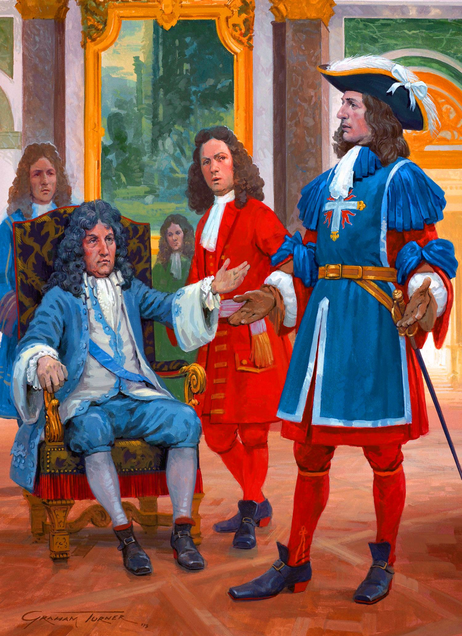 An introduction to the life and political history of louis xiv a french king