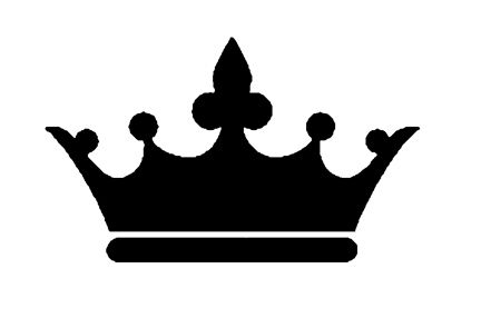 Princess crown silhouette clip art - photo#37