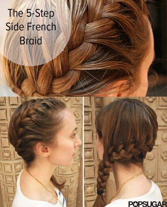 Pin This The 5 Step Side Braid Beauty Secrets Zopfe Flechten