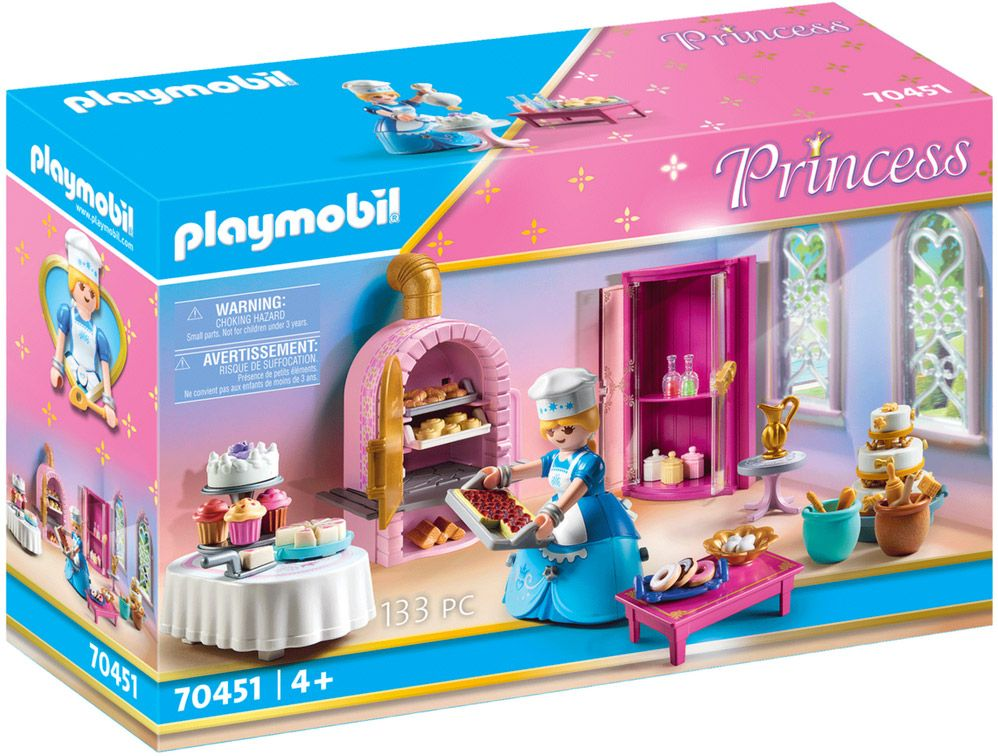 playmobil princess 70451 patisserie