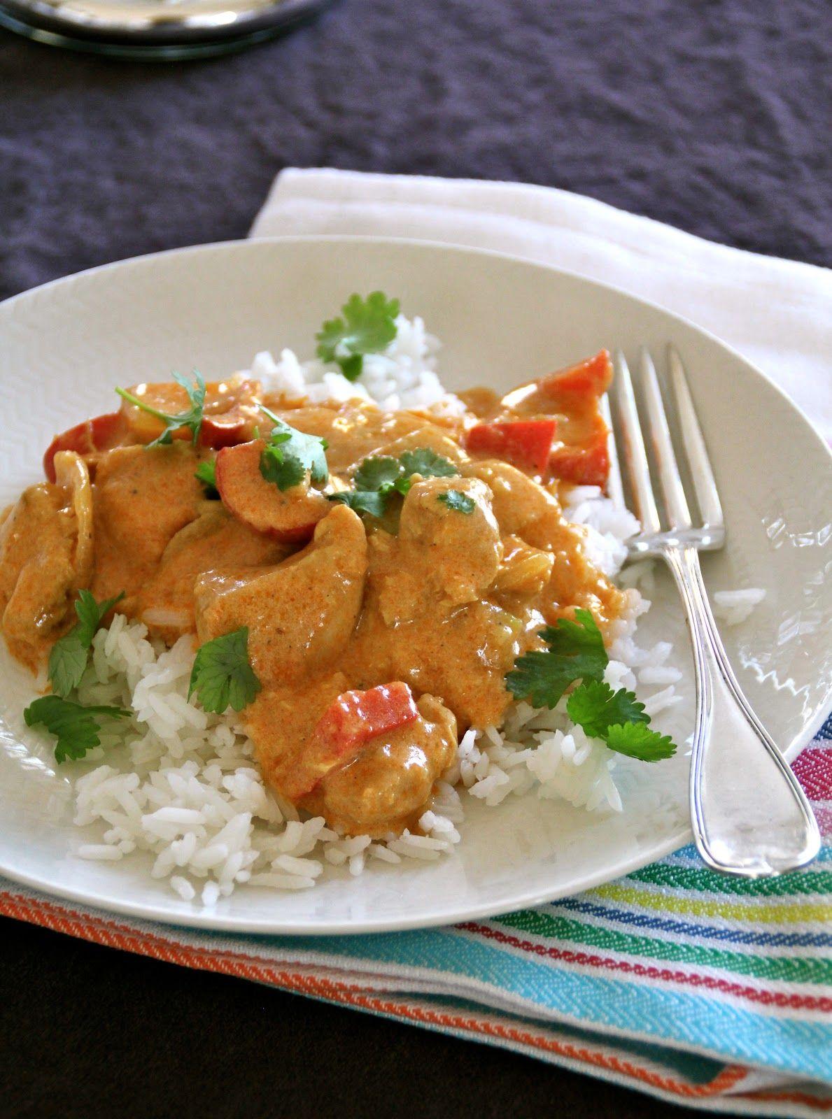 Mat på Bordet: Enkel kylling curry til hverdagen