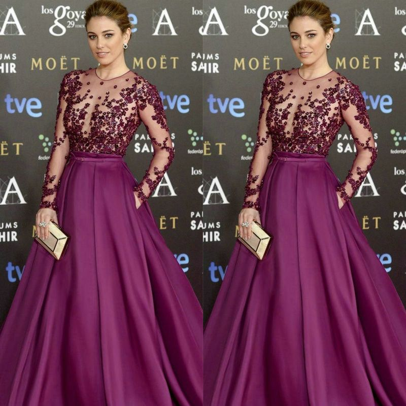 latest red carpet fashions | Goya Cinema Awards 2015 Red Carpet Long ...