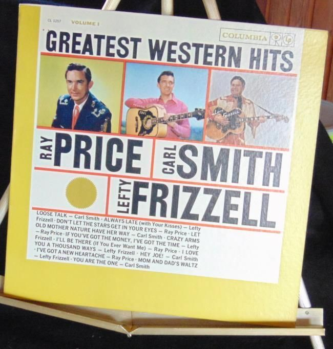 Greatest Western Hits Lp With R Price C Smith L