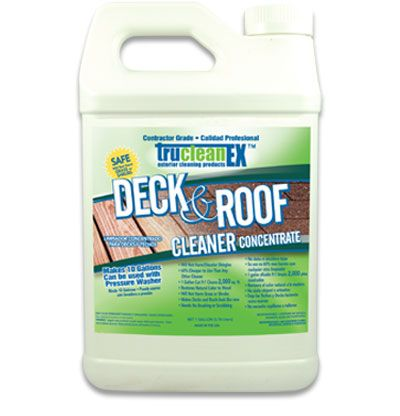 Trucleanex Deck And Roof Cleaner Product Image Roof Cleaning Deck Roof Deck