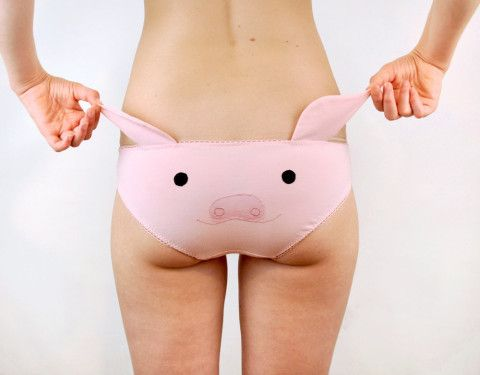 eac1f8232bc2 Why, these animal knickers have quite the (butt) cheek | Like ...