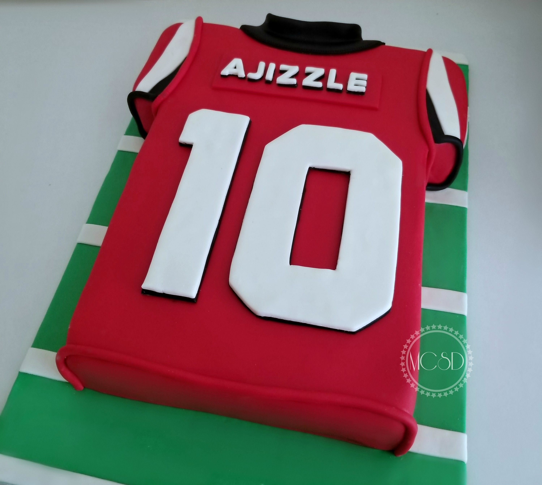 Atlanta Falcons Football Jersey Cake Atlanta Falcons Jersey Atlanta Falcons Football Falcons Football