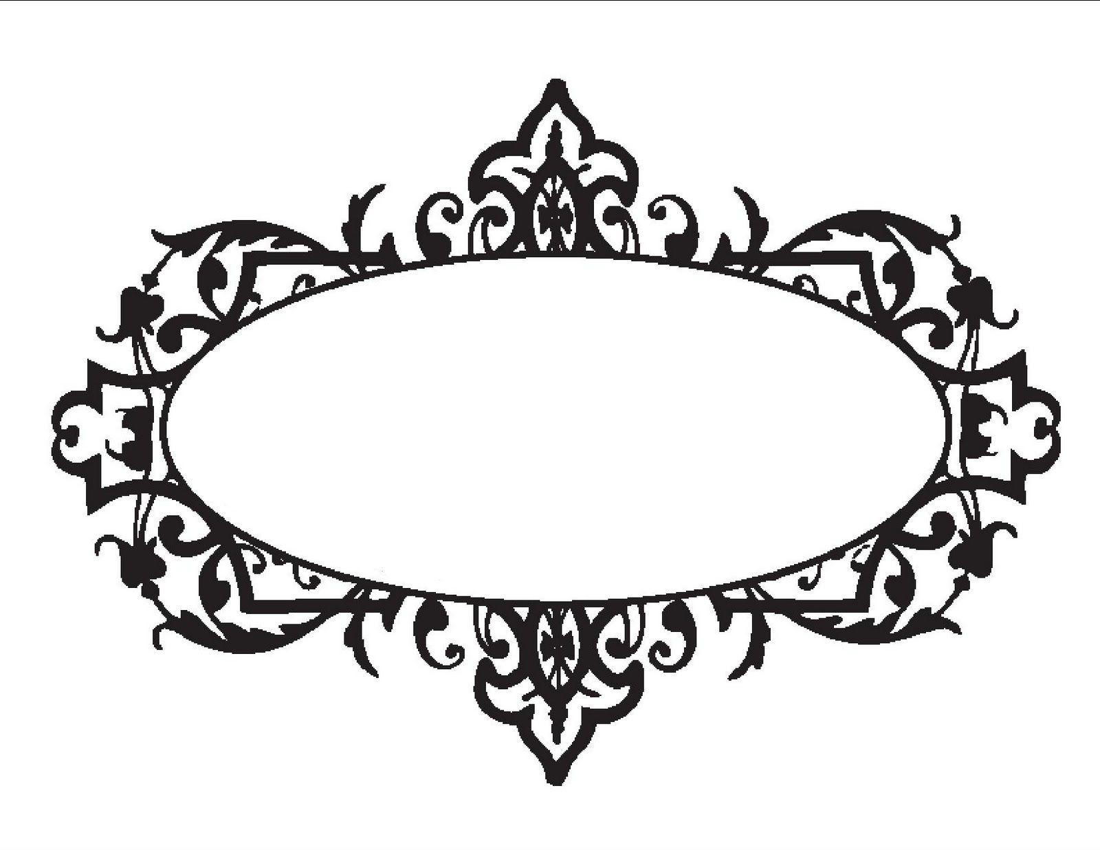 Monogram Templates Clipart - Clipart Kid | Clip Art | Pinterest ...
