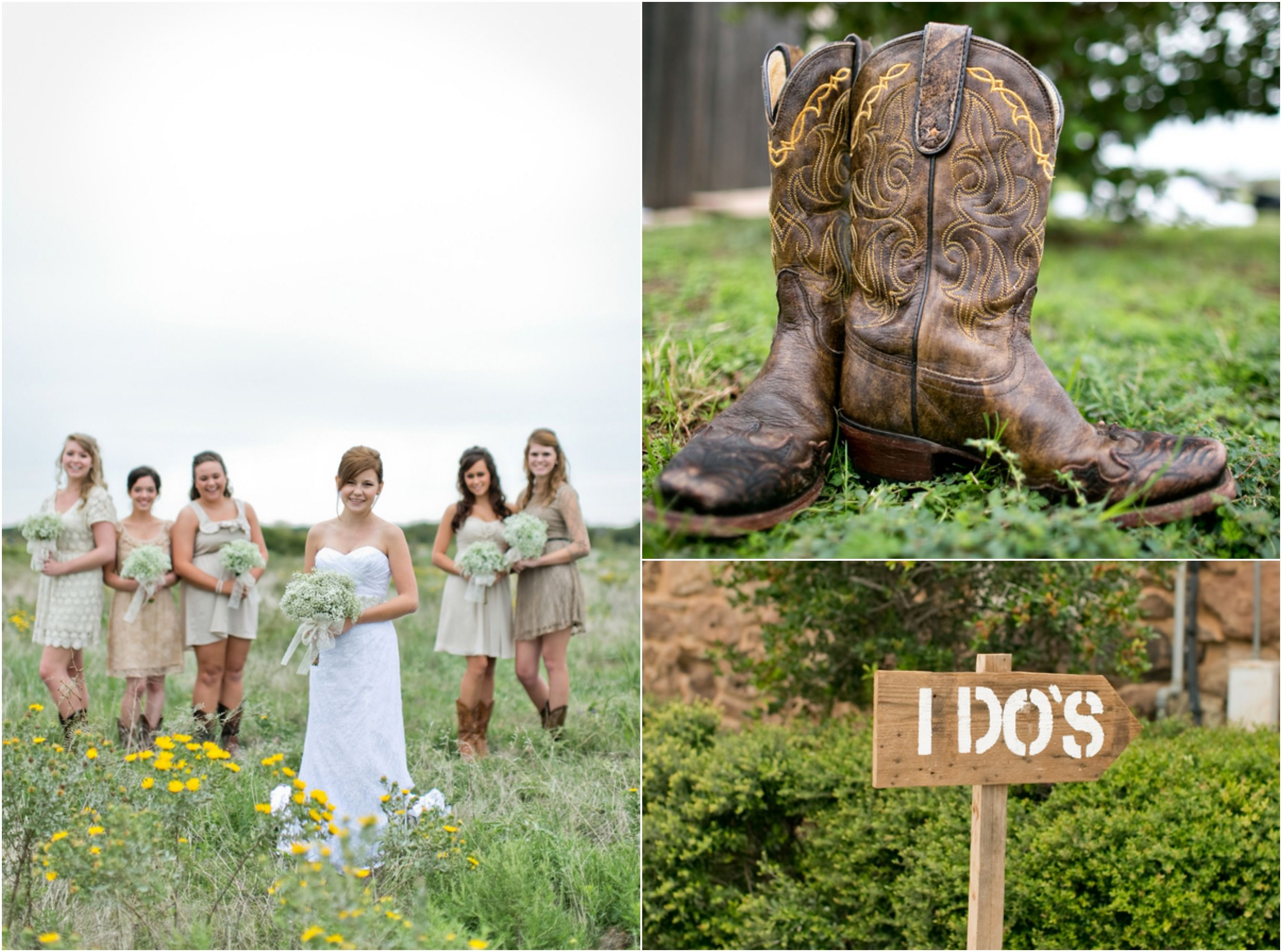 Texas Barn Wedding With Country Wedding Decorations Country