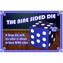 Nine Sided Die by Angelo Carbone - Trick
