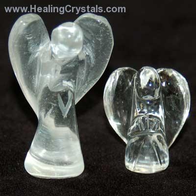 Angels - Clear Quartz Crystal Angels- Clear Quartz - Healing Crystals