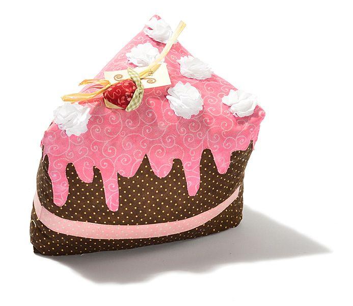 would you like a slice of chocolate cake?  - door stopper - 100% cotton handmade in Italy Non vuoi una fetta di torta al cioccolato? - fermaporta . 100% cotone fatto a mano in italia www.effecremona.it