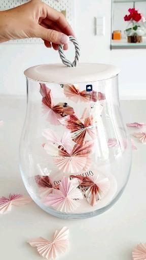 Geldgeschenk Schmetterlinge