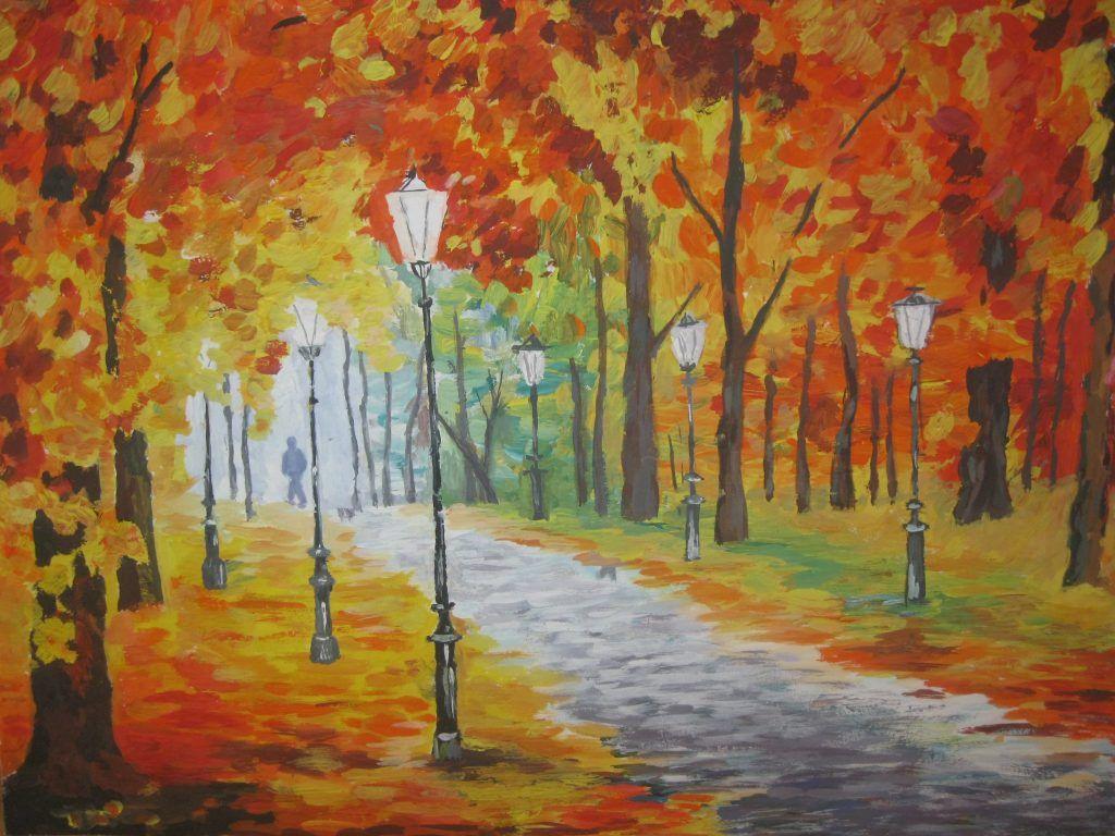 Осенний пейзаж для детей в картинках (43 фото) (с ...