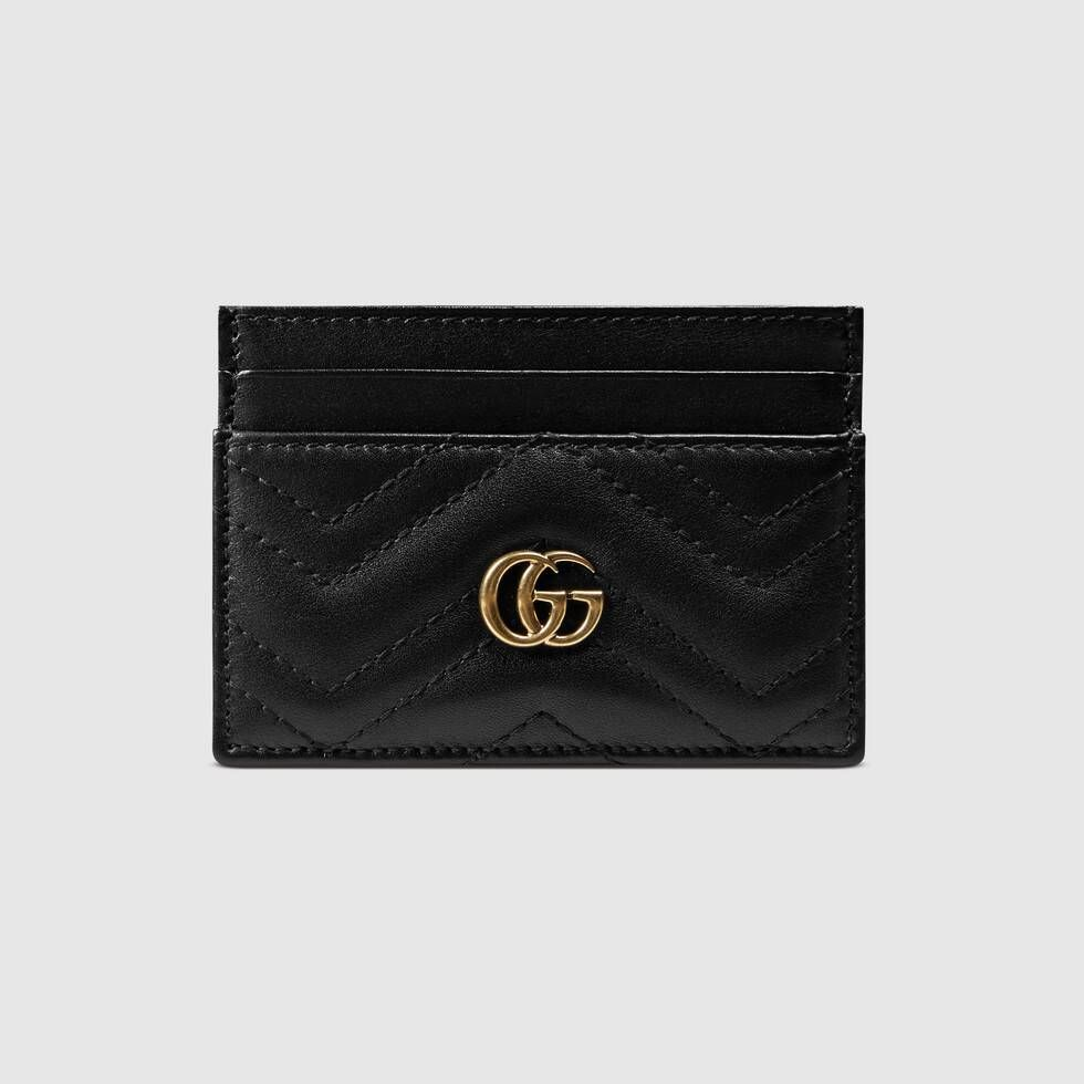 Gucci gg marmont card case with images womens