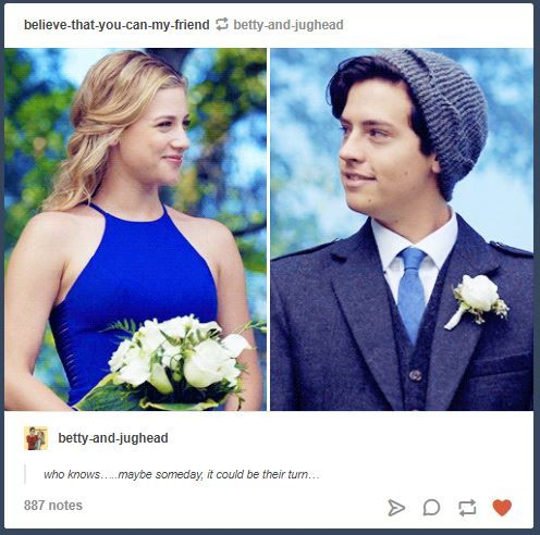 Bughead at Varchie wedding