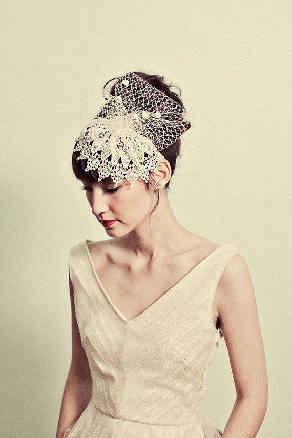 Fascinators for Short Hair   Gorgeous Headbands for Short Hair