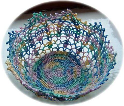 Doily bowl