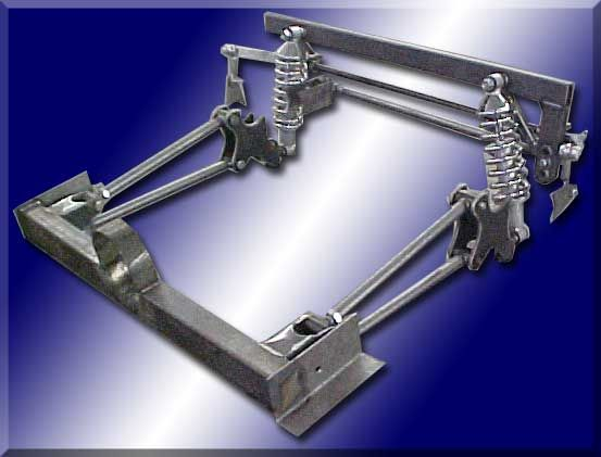 Martz Chassis 4 Link Suspension Truck Frames Automotive Engineering Metal Shaping