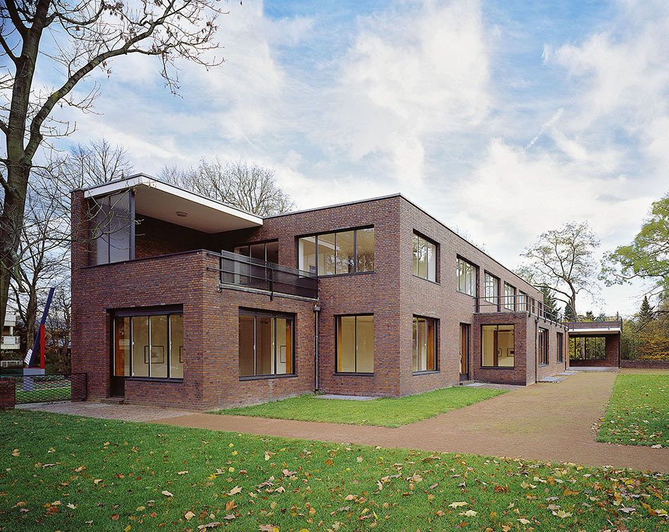 Mies van der Rohe, Haus Lange und Haus Esters, Krefeld