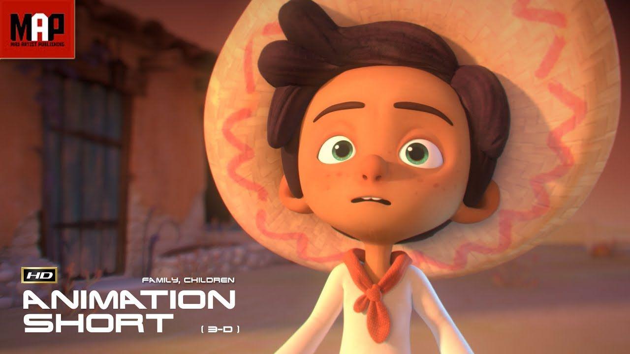 Cgi 3d animated short film hola llamigo cute animation