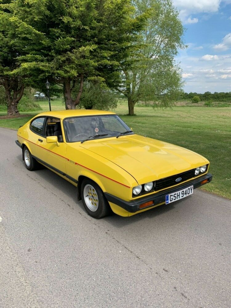 Ford Capri Mk3 280 Brooklands Canvas Wall Art Picture Print