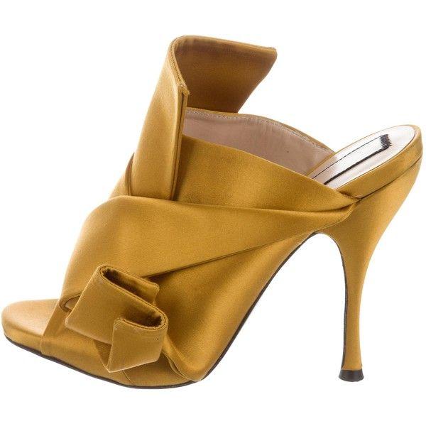 No21 Ronny kitten heel sandals 9Ylv4pxx