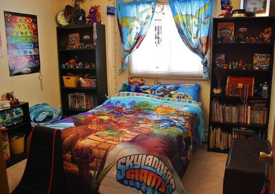 skylanders bedroom | basement/playroom ideas | kids bedroom
